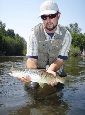 Dry fly fishing missoula montana