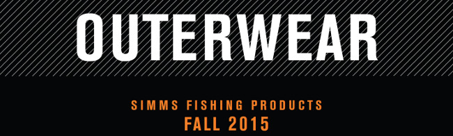 New Simms Fall 2015 Outerwear